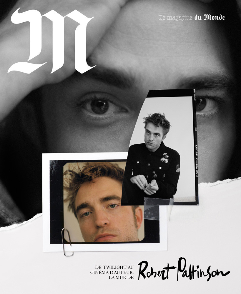 M Le Monde × Robert Pattinson - © KITTEN