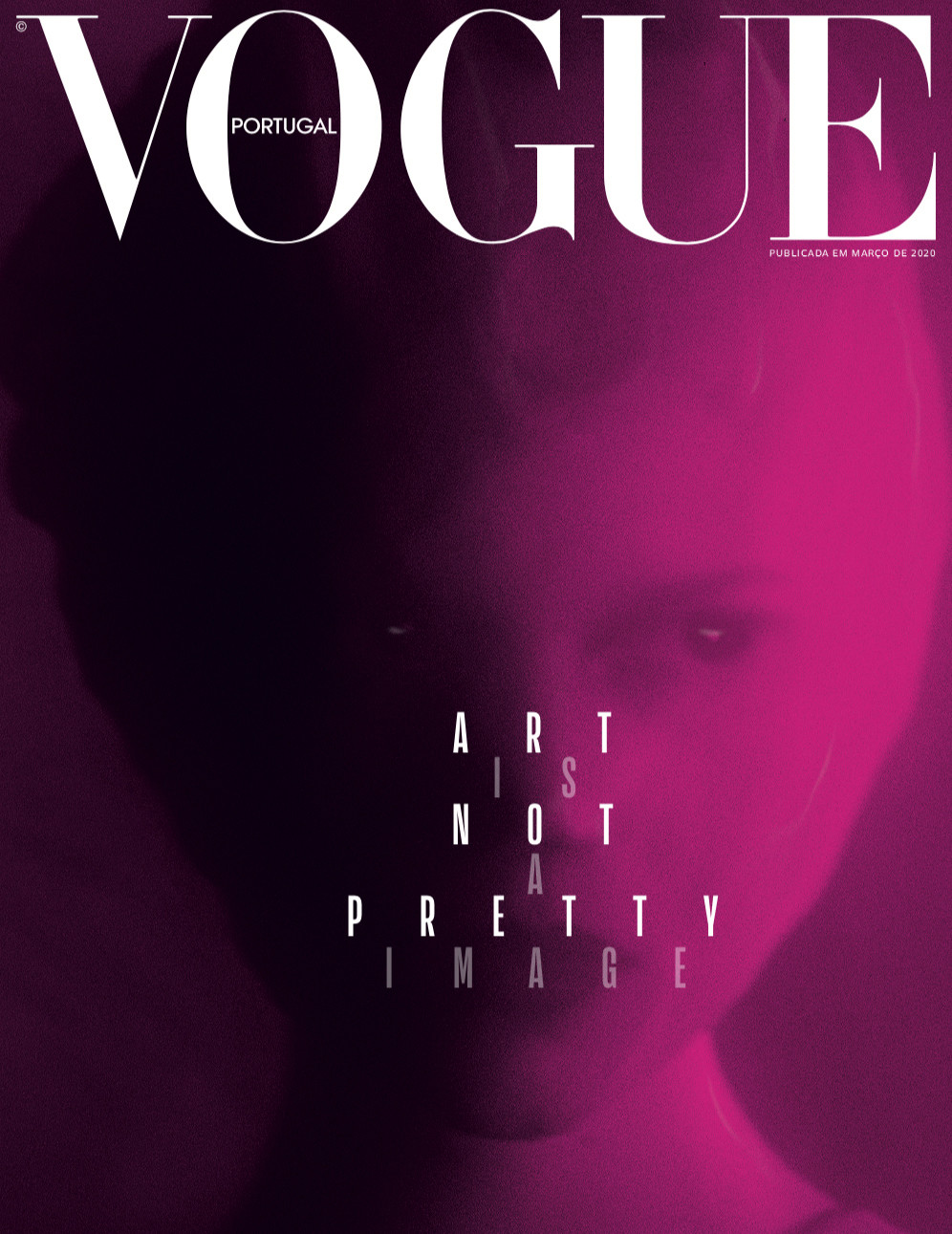 VOGUE PORTUGAL, THE ART ISSUE - © KITTEN